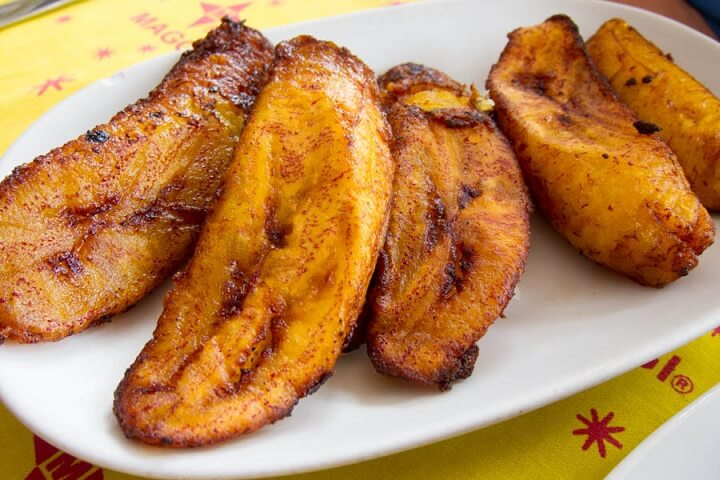 Fried Plantains A Flavored Jamaican